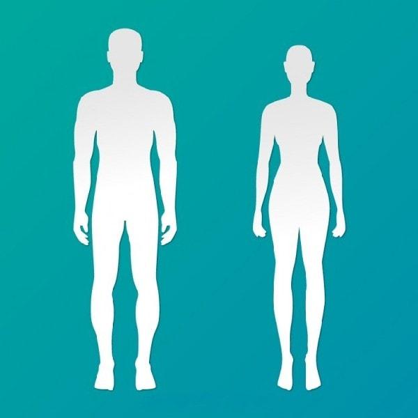 Positive Negative Body Image