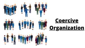 Meaning and understanding of the coercive organization