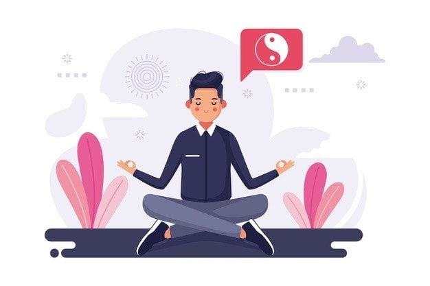 Meditation and Exercise to manage anxiety