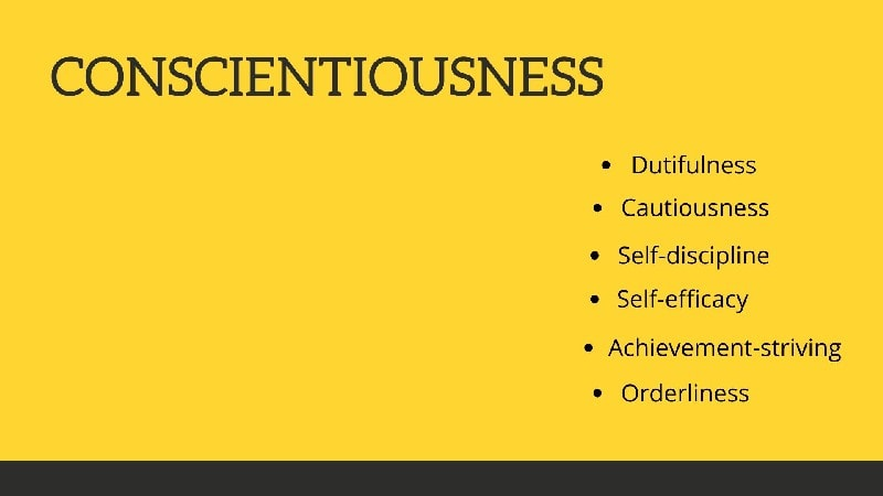 Traits of Conscientiousness