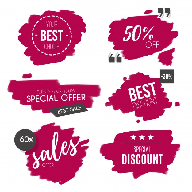 Types of pricing discount