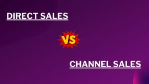 difference between Channel sales and direct sales - 1