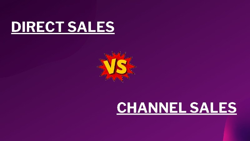 difference between Channel sales and direct sales