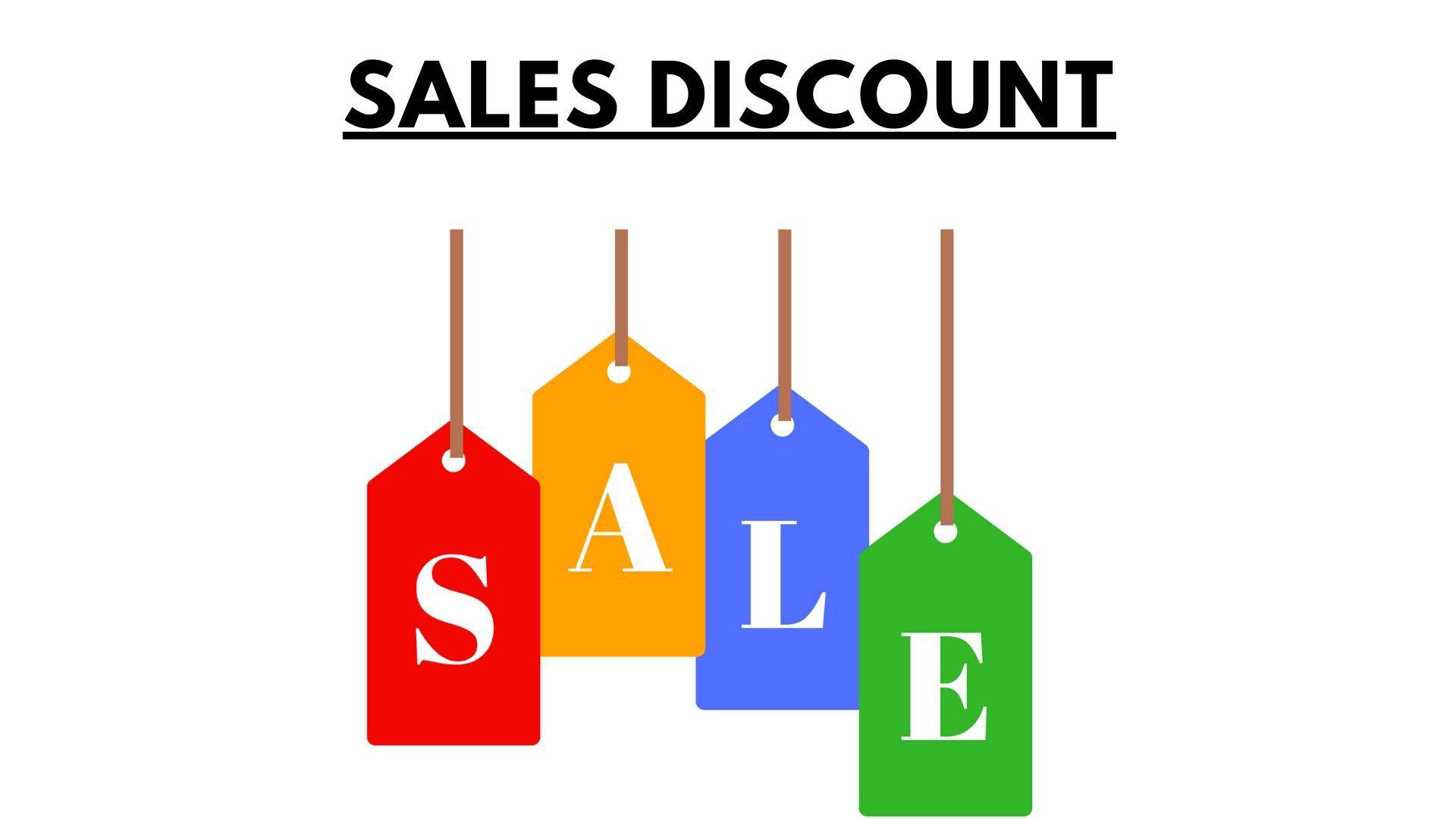 sales discount