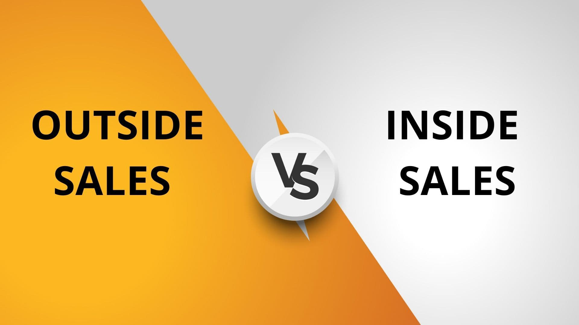 Difference between Outside sales and Inside sales - 1