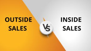 Difference between Outside sales and Inside sales