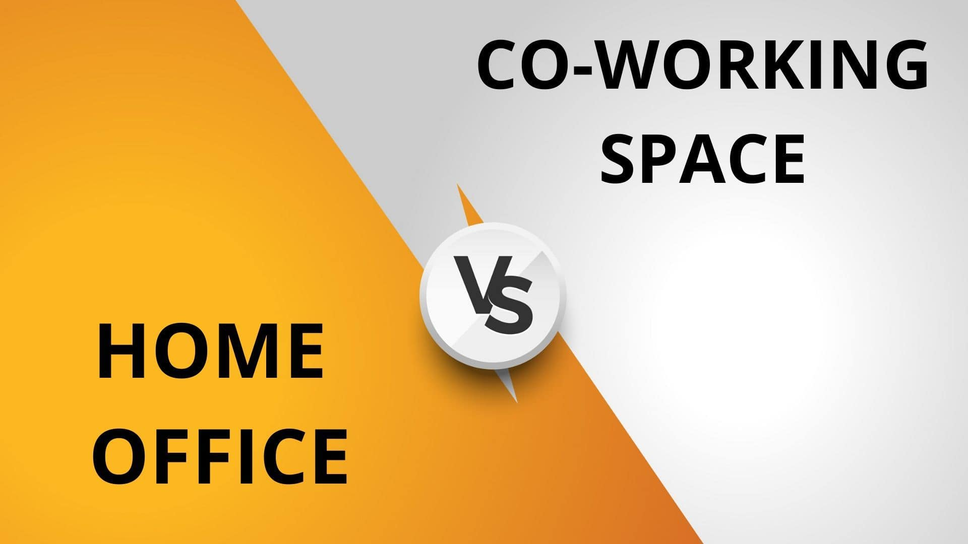 Home office vs Co-working space