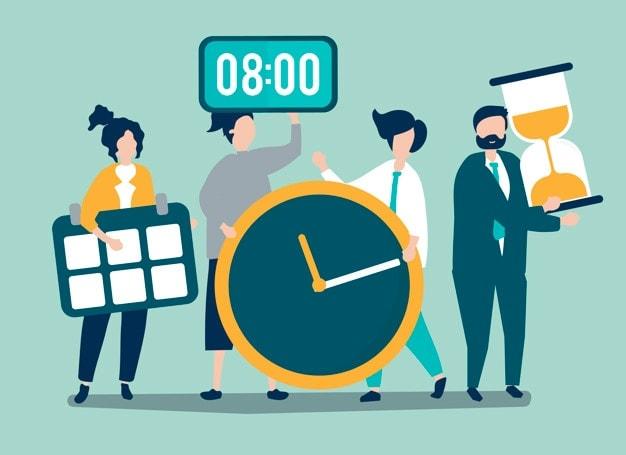 Take scheduled breaks
