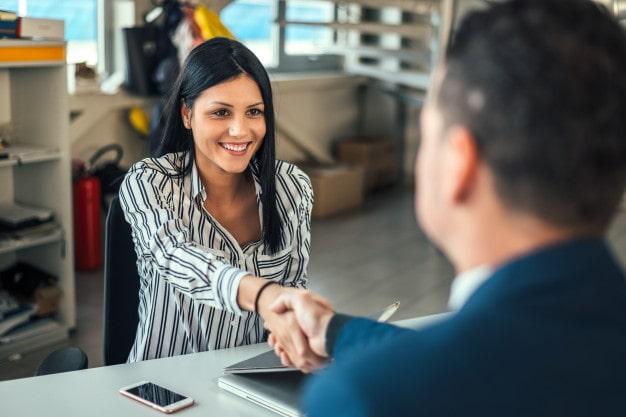 What do outside sales representatives do