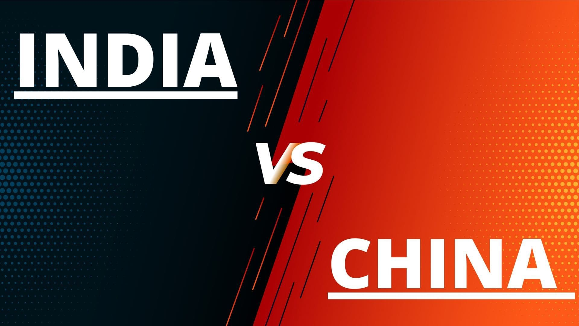 differences between China and India - 1