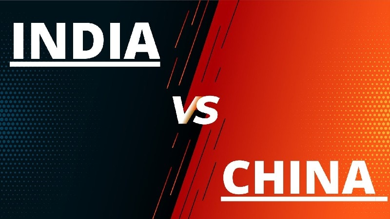 differences between China and India