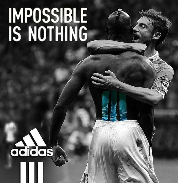 Adidas – Impossible is Nothing Advertising Slogans