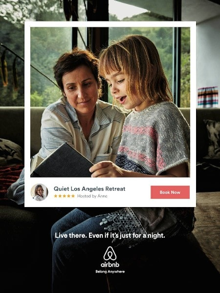Airbnb Live there ads