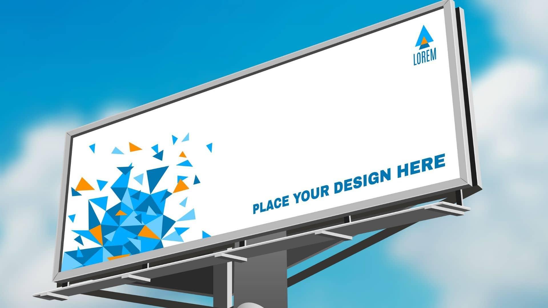Billboard advertising