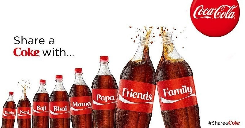 COKE Advertising Example- Share a Coke Campaign