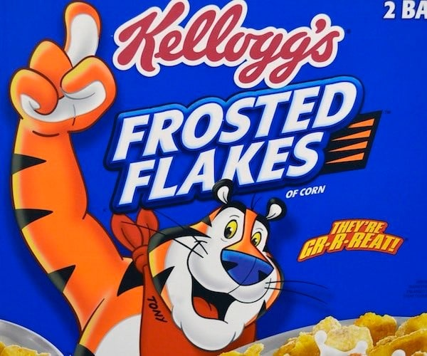 Frosted Flakes – They're gr-r-reat
