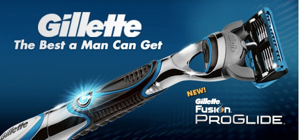 Gillette – The Best A Man Can Get Advertising Slogans