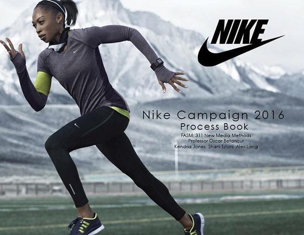 Рост рекламы Nike