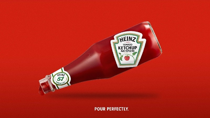 Heinz Ketchup Advertising Example-No one develops Ketchup like Heinz Campaign