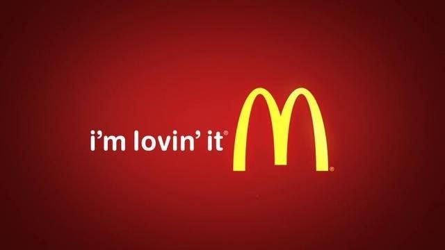 McDonald's – I'm Loving It.