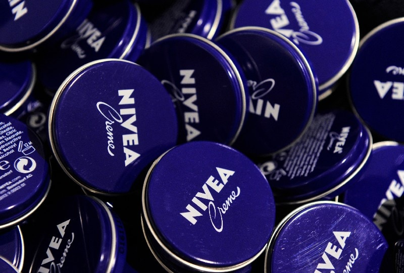 Nivea - Night Time Products were sold with advertising