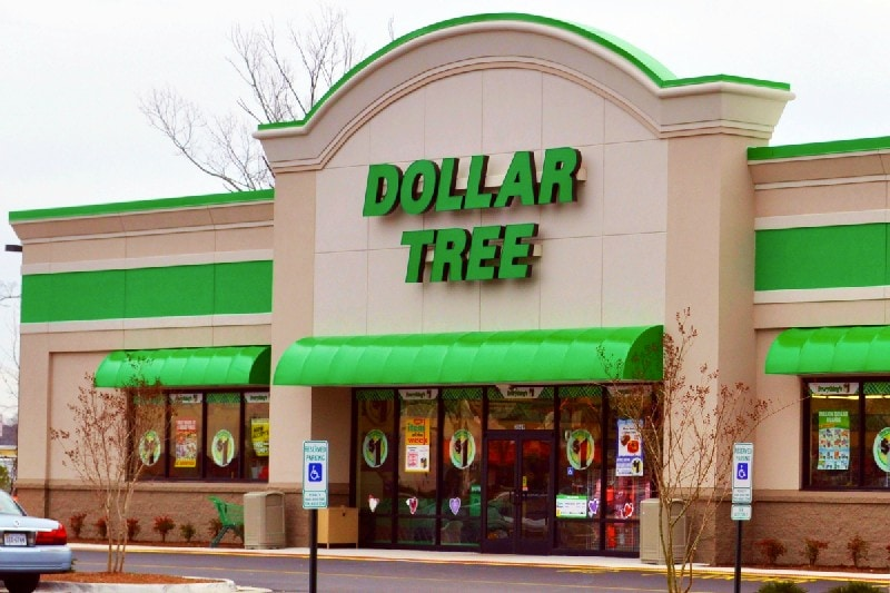 The dollar tree