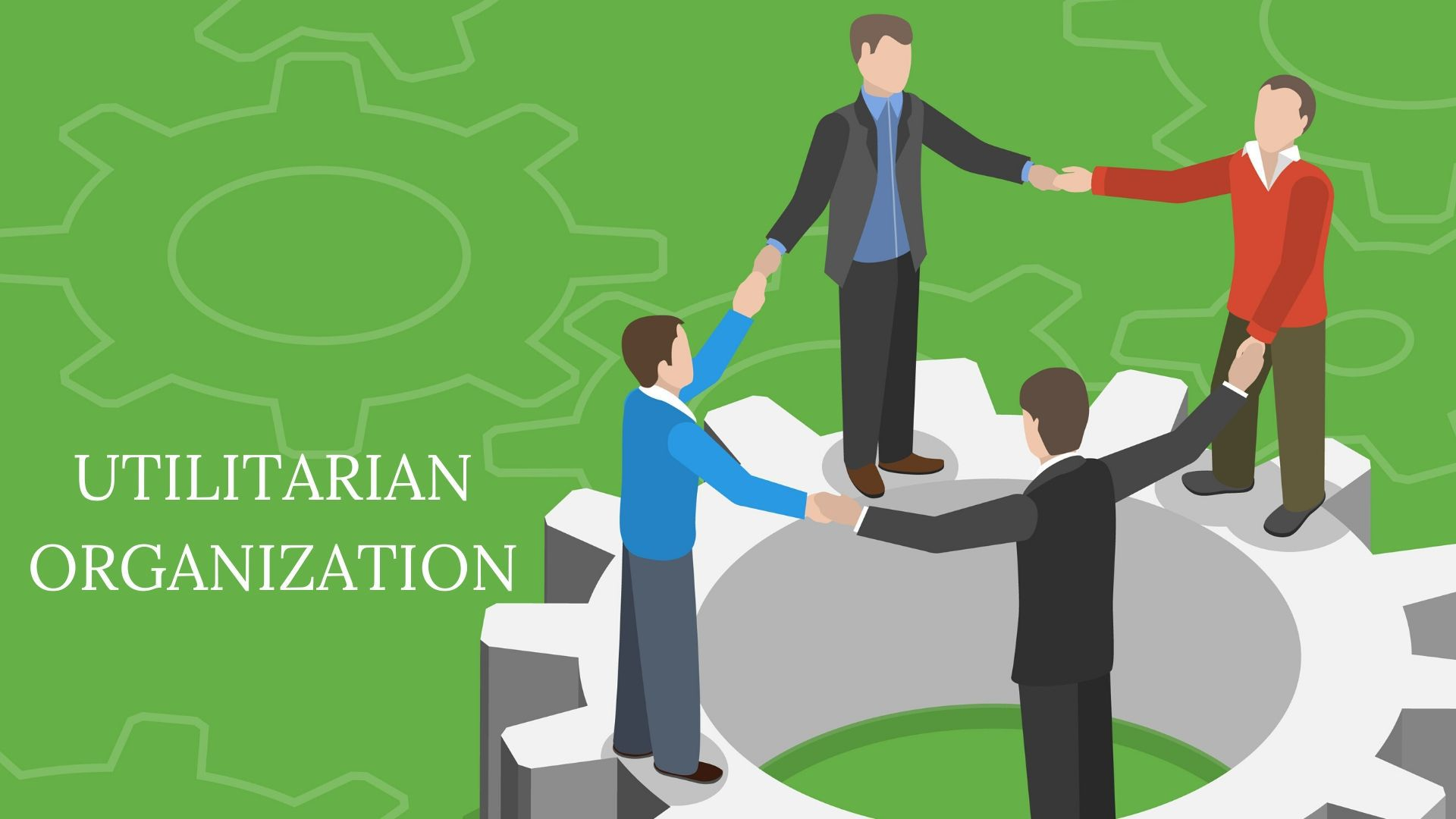 What is Utilitarian Organization