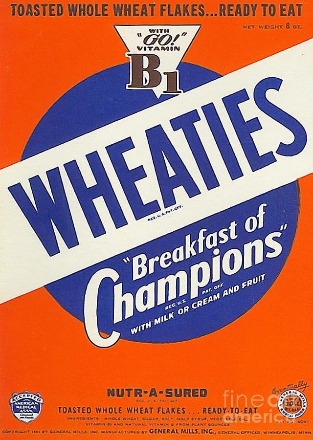 Wheaties – The Breakfast of Champions
