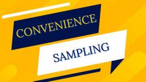 convinience sampling