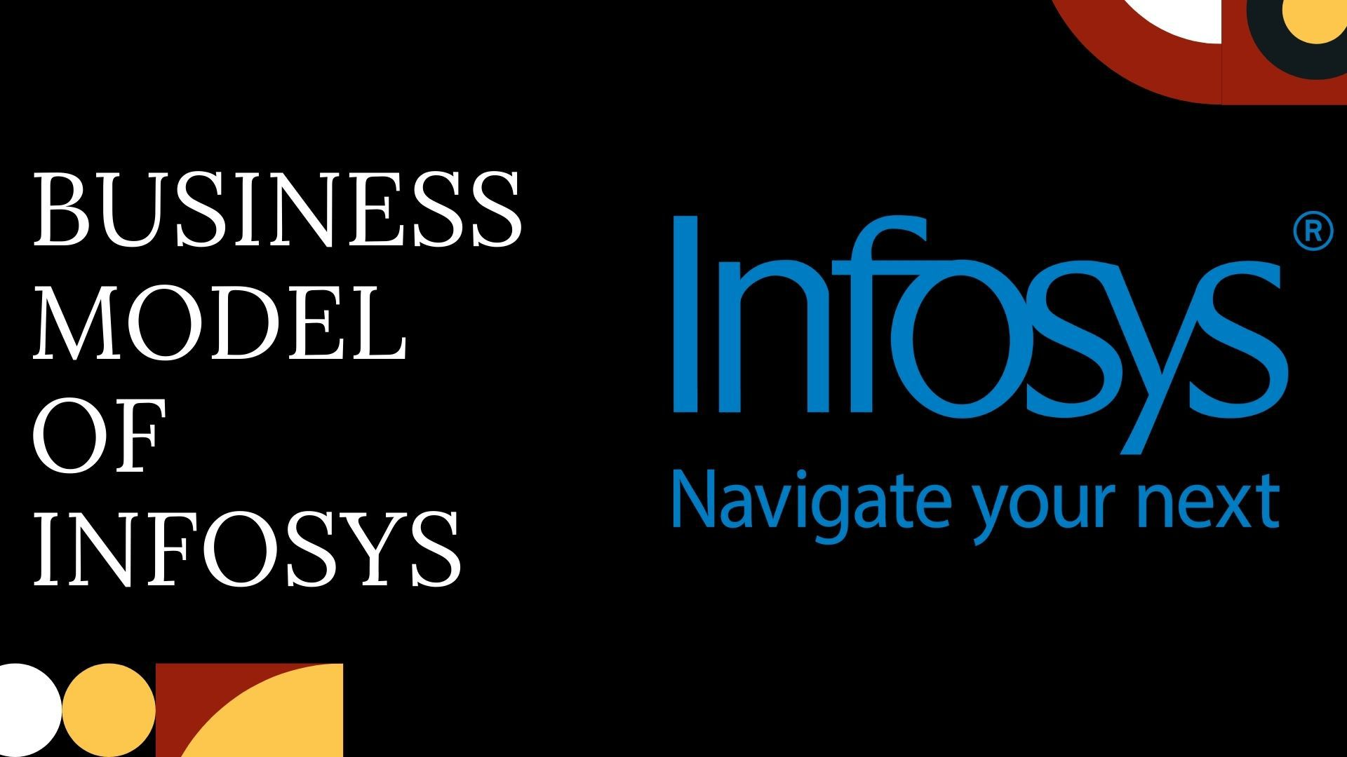 Business Model of Infosys