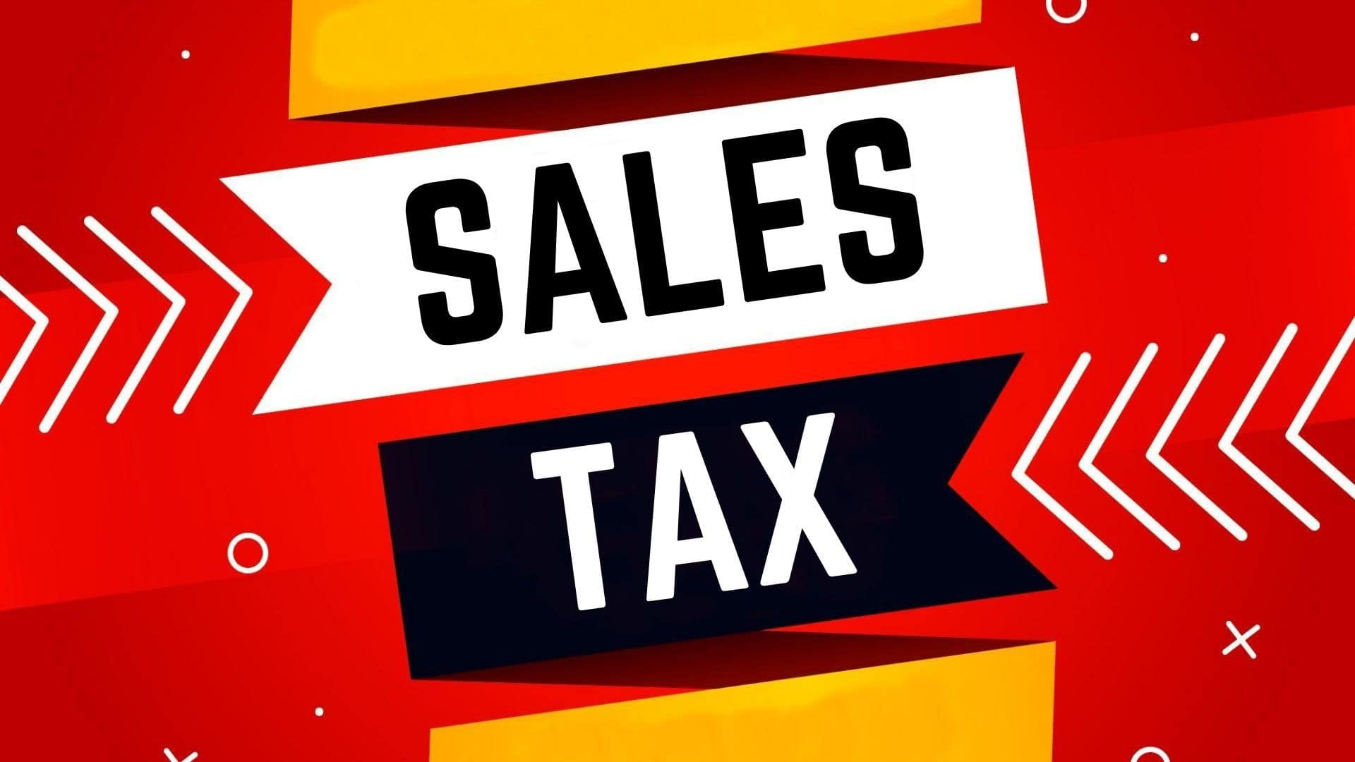 How does business calculate sales tax