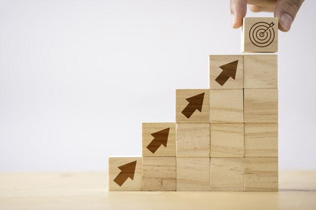 Steps involved in career progression