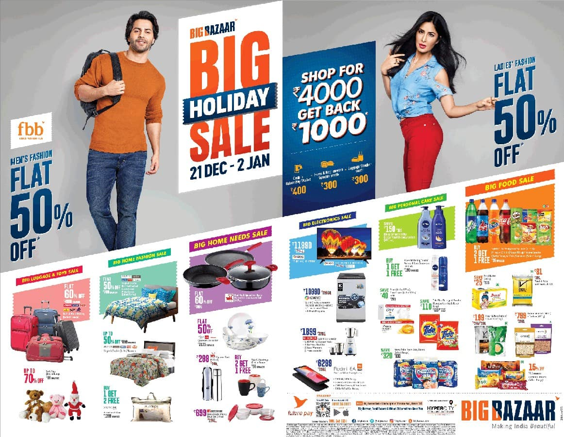 The Idea behind the Business Model of Big Bazaar