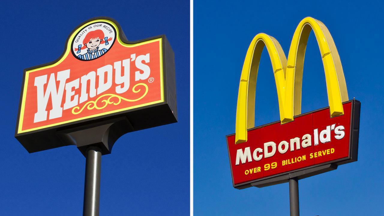 Wendy's versus McDonald's