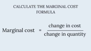 What is Marginal Cost