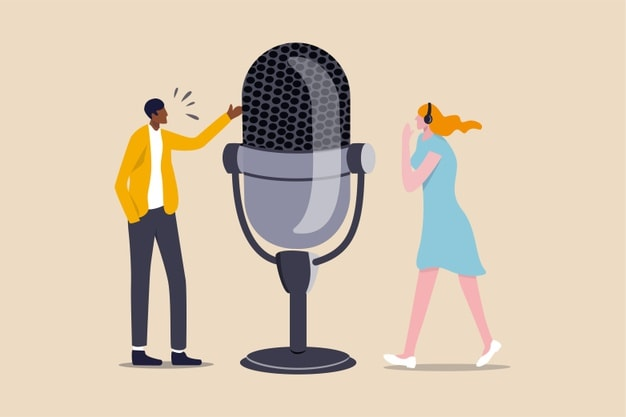 Who can use podcast advertising