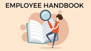 What is Employee Handbook? Definition, Meaning, Contents, Reasons, and Examples Employee handbook definition An employee handbook is a manual or a book given by the employer to his employees to provide information related to the job. It is an integral part of the Onboarding process. It offers cultural content that includes the welcome statement, company values, mission and purpose, general information like policy summaries, company perks, and holiday-related information and case-specific content like company rules, policies, grievance, and disciplinary procedures. Employee handbook meaning A company employee handbook is also known by names like company policy manual, staff manual, or employee manual. It is a document that clarifies the mission and vision of the organization, the expectation of the employer from his employee, and the rights and responsibilities of the employee while he is employed in the company. Employee handbook contents Employee handbook design includes the following sections – • Basic employment information – The coolest employee handbook has a section dedicated to information related to employment basics. It is a descriptive and informative part that offers employee information about job classification and terms of the contract. If the employee has any queries regarding these topics, he can open up his company handbook and go through it for clarifying his doubts. This section of the handbook also includes rules regarding employee attendance in the organization. Contents include 1. The company provides information on employees who will be considered part-time workers, full-time workers, apprentices, interns or any other type of employee it is employing 2. It clarifies equal opportunity rules to promote a culture of quality and respect in the company 3. In the section for the hiring and selection process, the company handbook outlines all the steps related to these processes. It also mentions how to conduct pre-employment checks, how to handle the