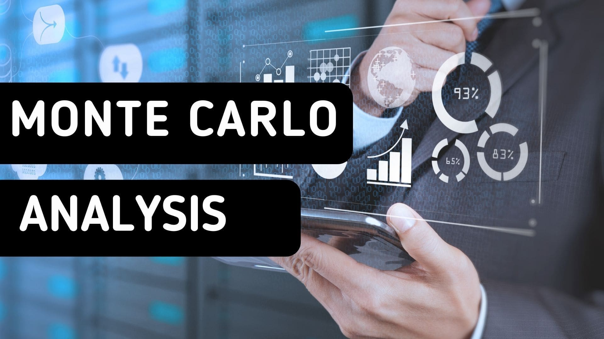 How does a Monte Carlo simulation work