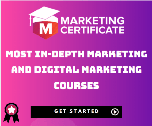 Marketing Certificate Sidebar Banner