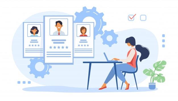 Steps to create a customer profile