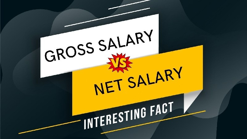 Differences between gross salary and net salary