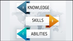 Knowledge skills, and abilities