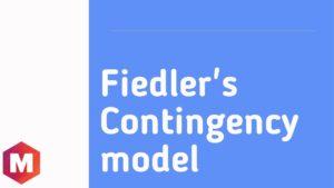 Fiedler_s Contingency model