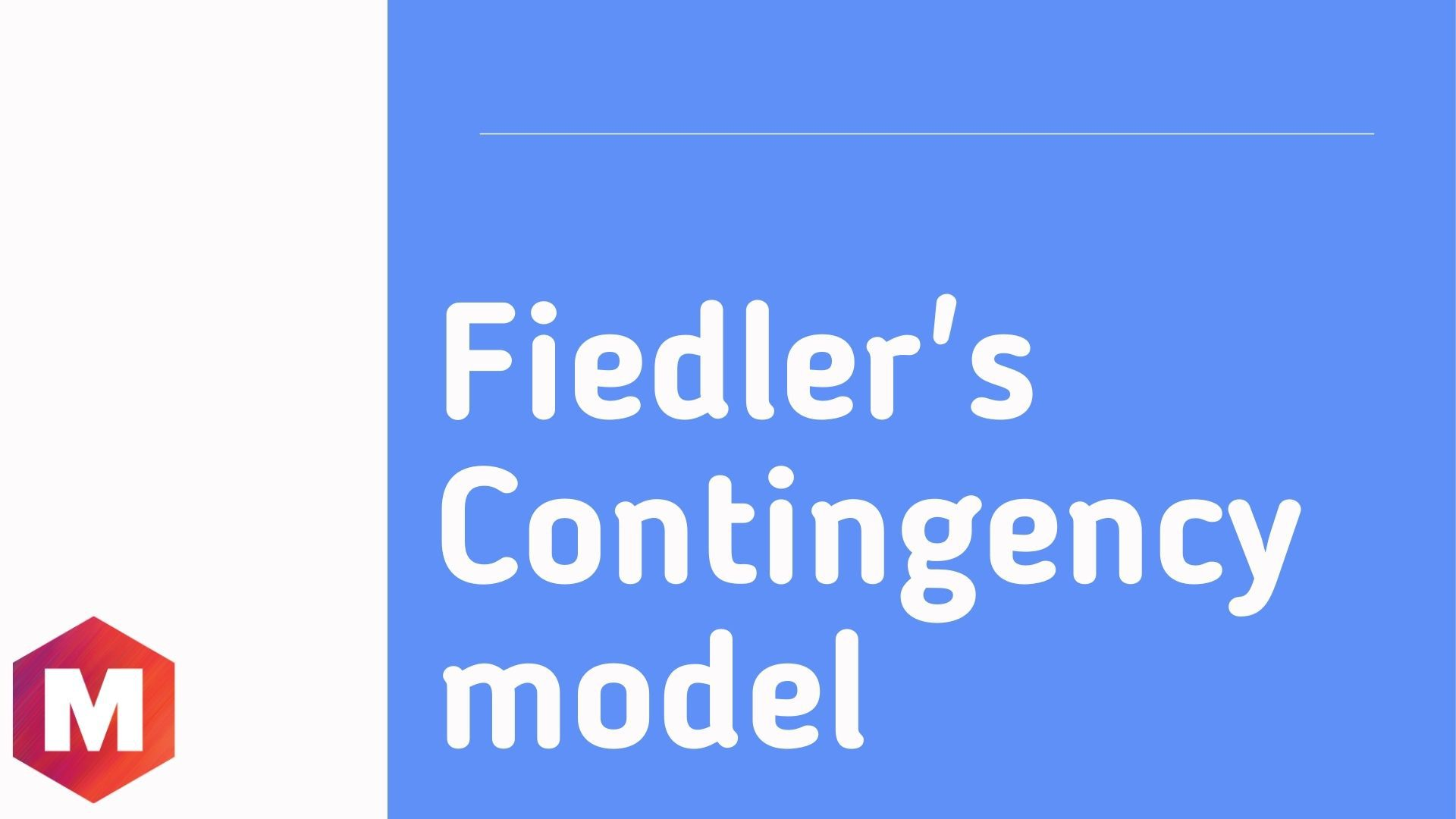 Fiedler_s Contingency model