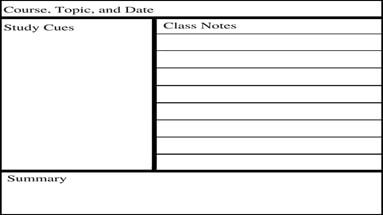 How to master the Cornell note-taking system