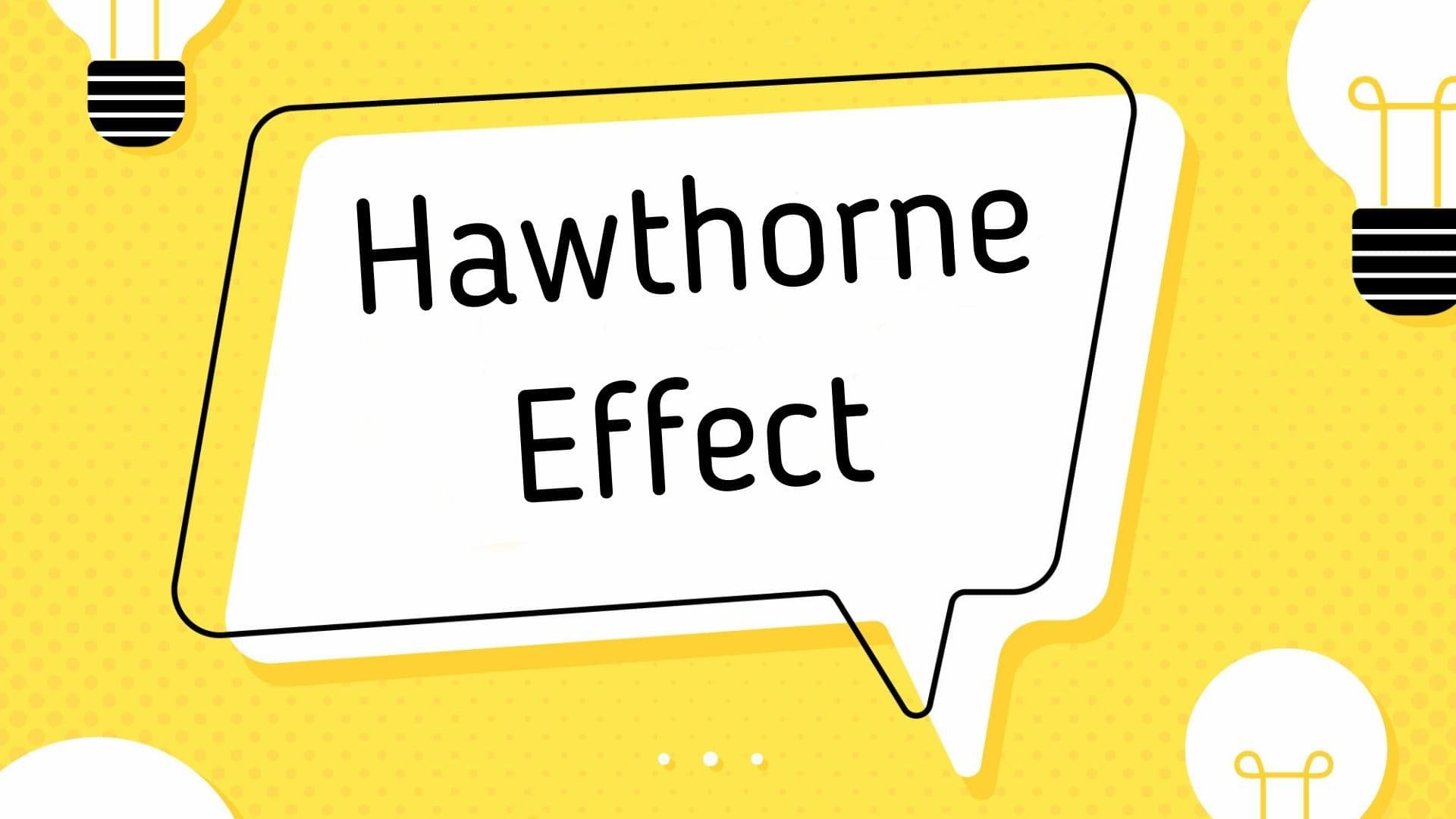 How were the experiments conducted in the Hawthorne Effect