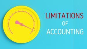 Limitations of Accounting