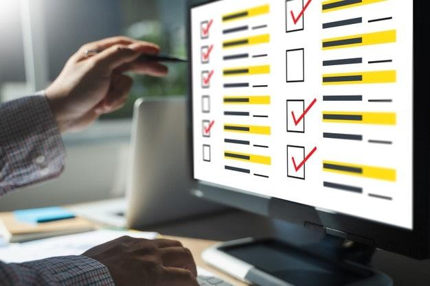 Online surveys method