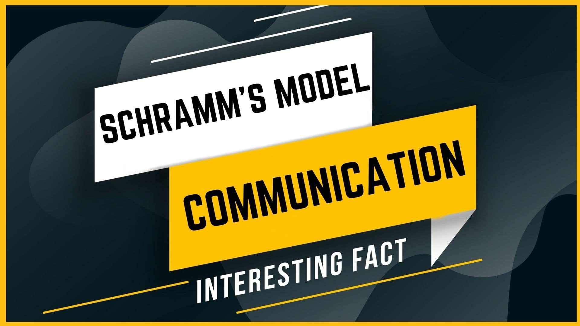 Schramm's model of communication