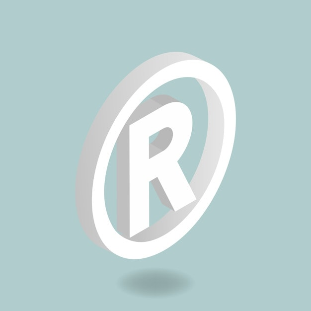 Usage of the registered symbol